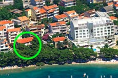 Apartment on the beach of Makarska - Apartment Siric